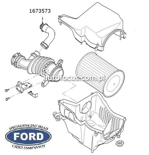 Kup Przewód filtra powietrza FORD Focus C-Max 1,6TDCI C